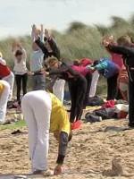 Normandy Beach Yoga