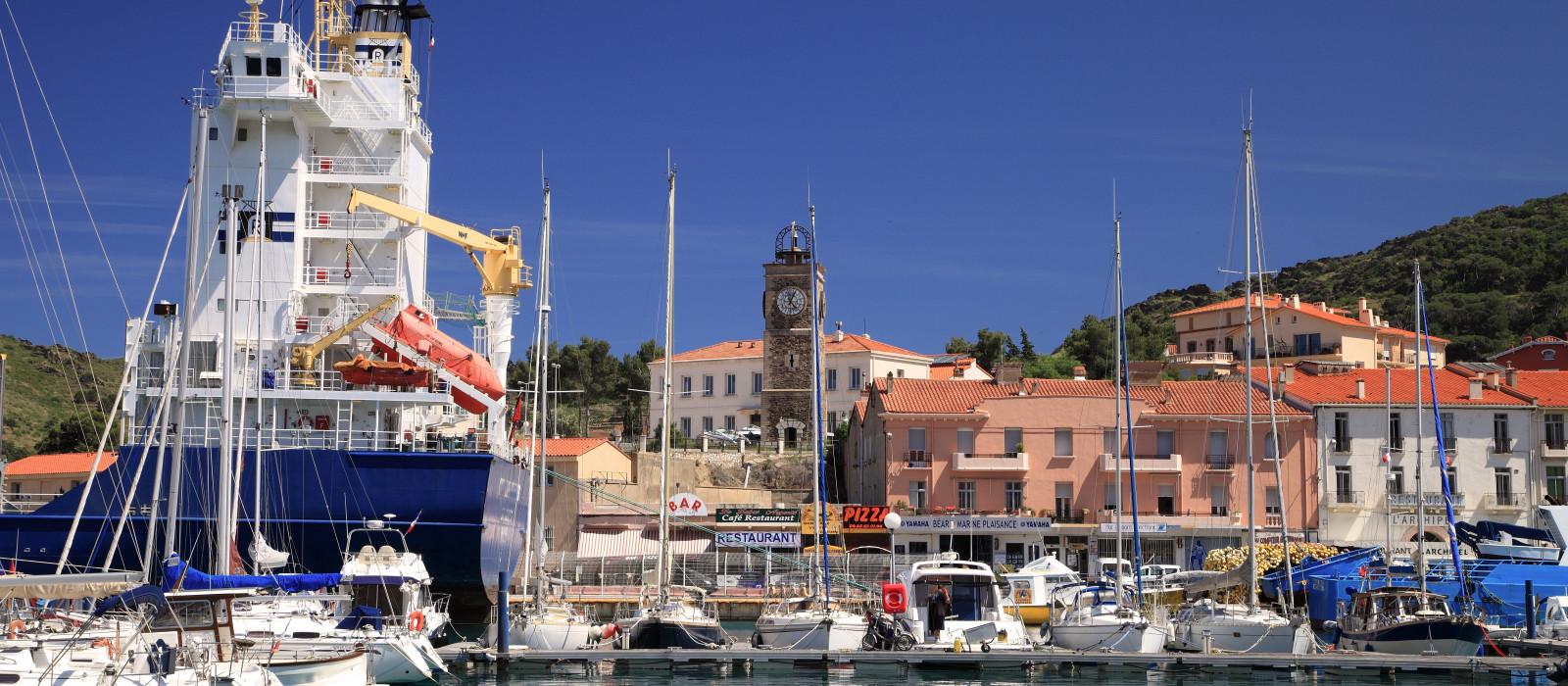 Visiter port vendres que faire port vendres suivez le guide - Restaurant le france port vendres ...