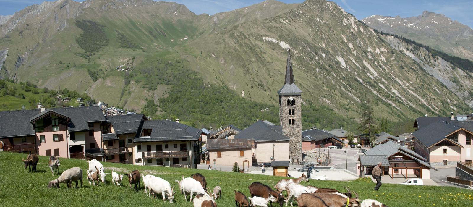 Les Menuires, Val Thorens, Saint-Martin-de-Belleville