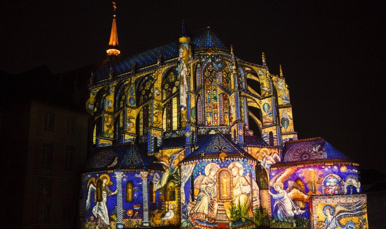 Le patrimoine de Chartres s'illumine !