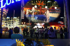 Le parc d'attractions Luna Park