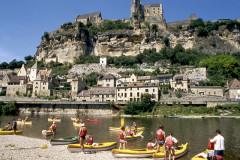 Descente de la Dordogne en canoë
