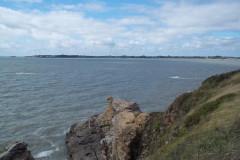 Le port de Kercabellec et les marais salants du Mès
