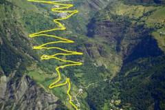 L'étape du Tour du France de l'Alpe d'Huez