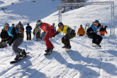 Compétition internationale de ski
