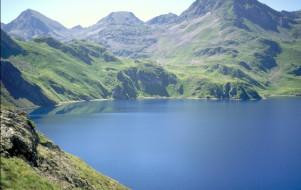 Le lac de Lourdes