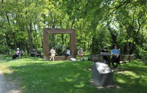 Le parc de l'Île-Saint-Denis