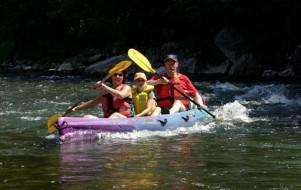 Descendre les Gorges de l'Ardèche en canoë-kayak
