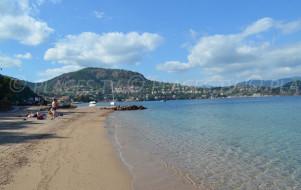 Les plages de Théoule