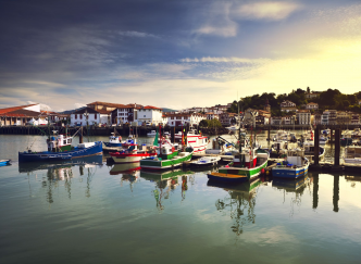 Les stations balnéaires de la Côte Basque