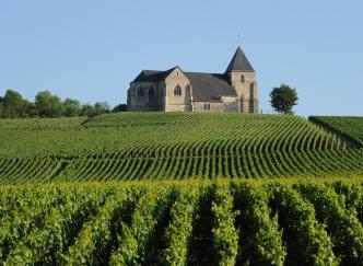 Sur la route touristique  du Champagne