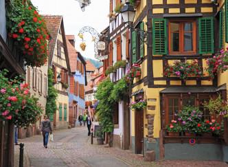 Les plus beaux villages de la Route des Vins d'Alsace