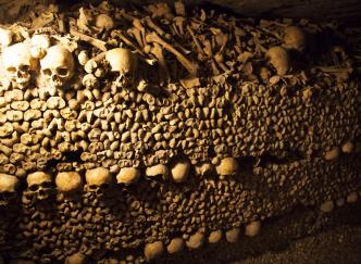 Les catacombes de Paris, un lieu qui intrigue