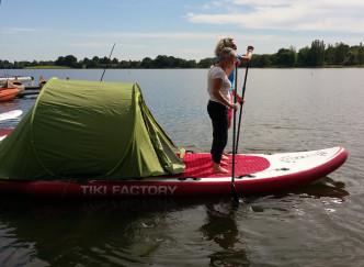 Dormir sur un paddle, c'est possible !