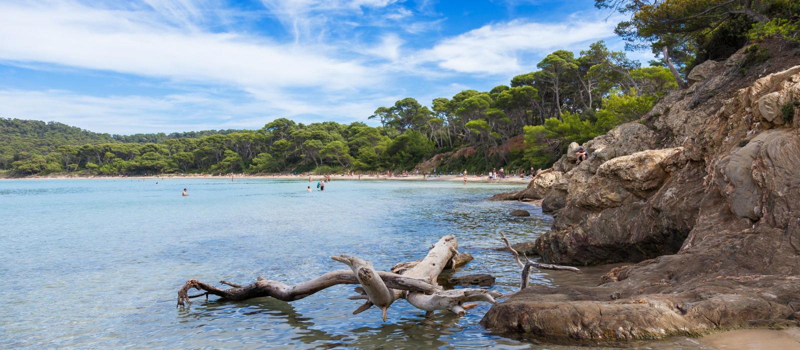La plus belle plage d'Europe est à Porquerolles !