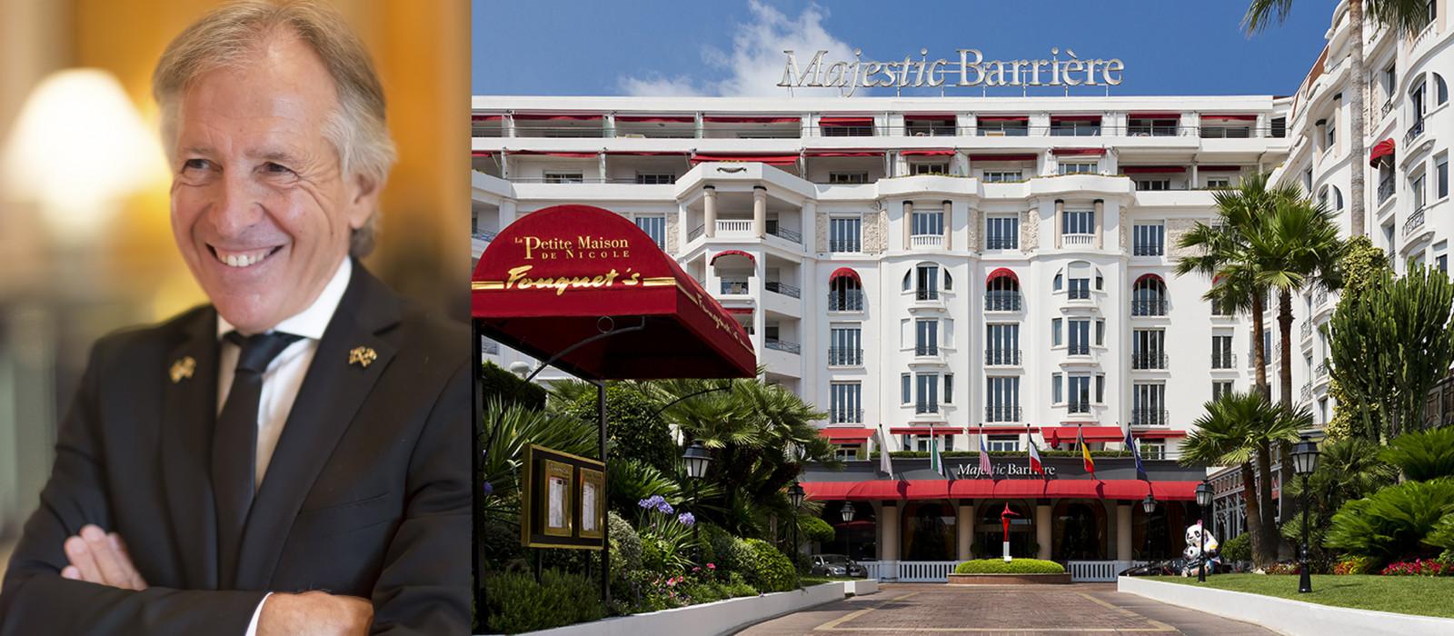 Cannes : les bonnes adresses de Roger Bastoni, concierge de l'Hôtel Barrière Le Majestic