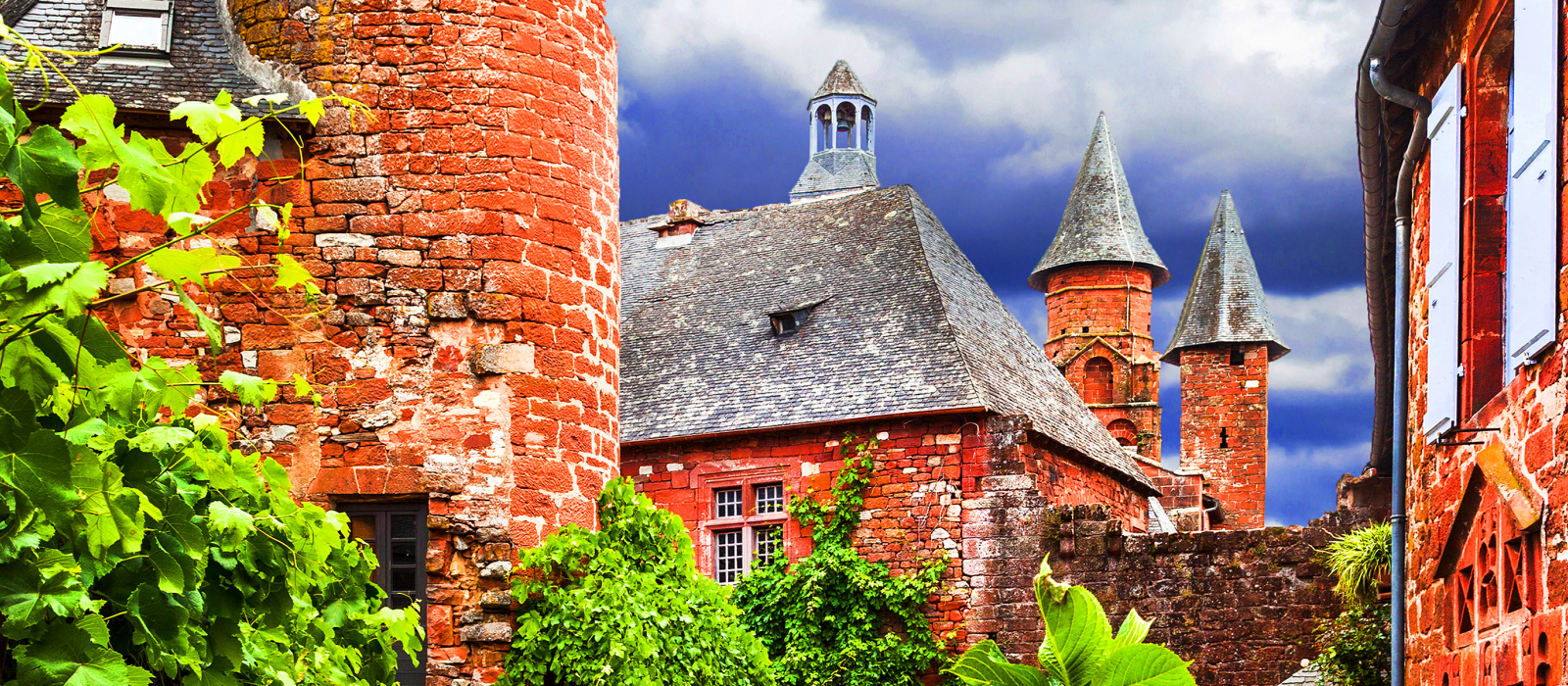 Collonges-la-Rouge et Turenne