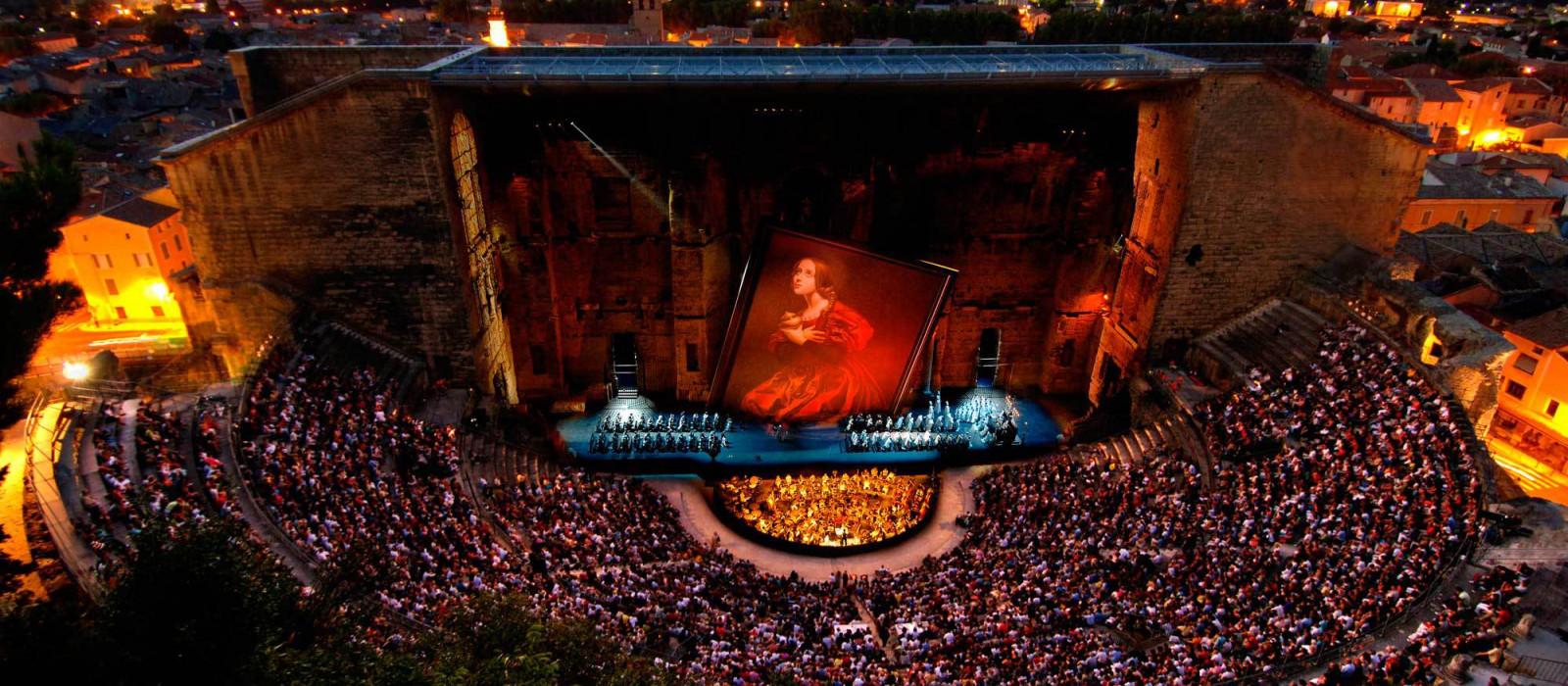 Des airs d'opéra en plein air