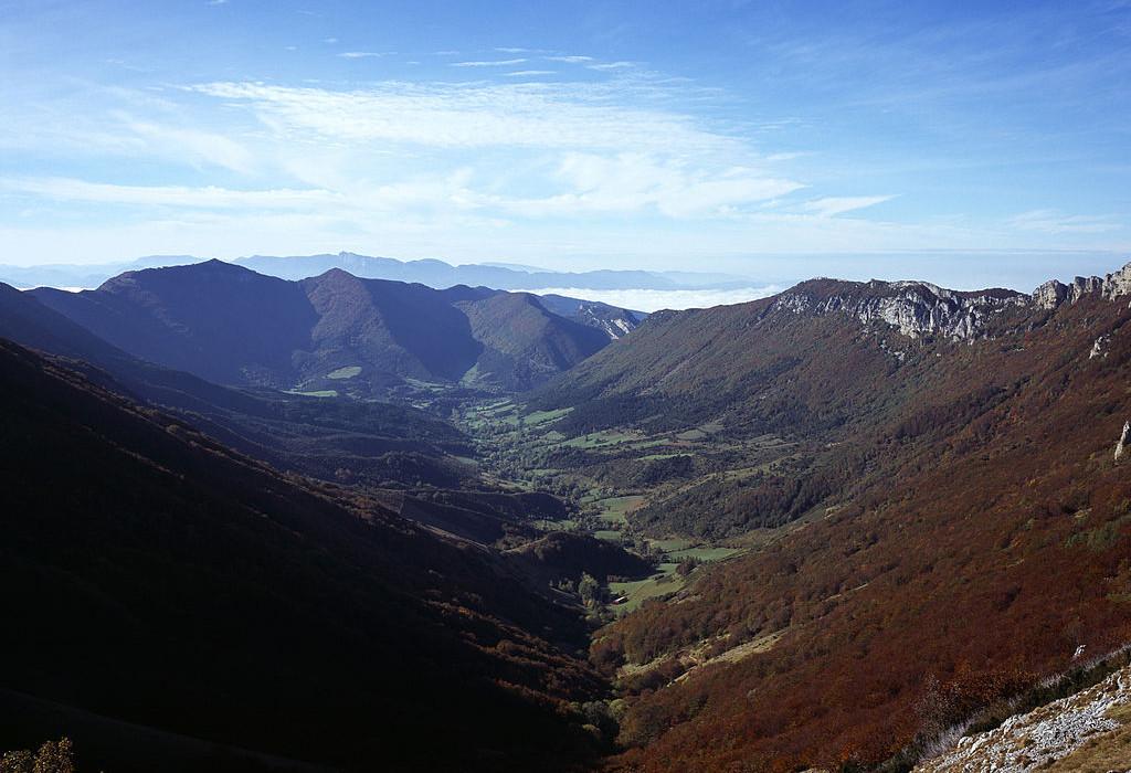 Une promenade dans le col de la Bataille (Drôme)