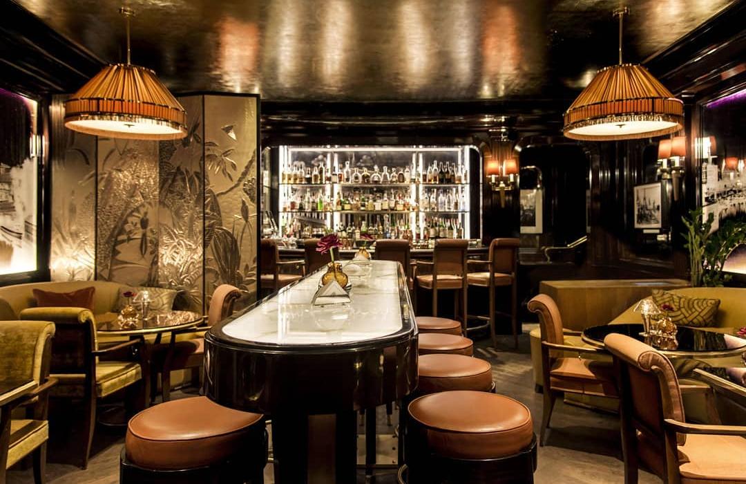 Les plus beaux bars d'hôtels de luxe de Paris