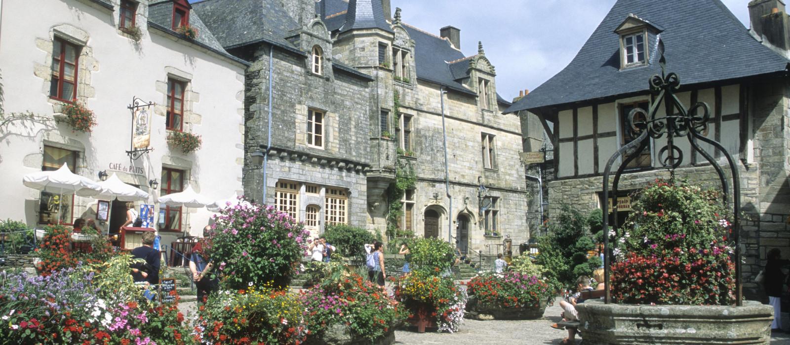 À la découverte des villes les plus fleuries de Bretagne !