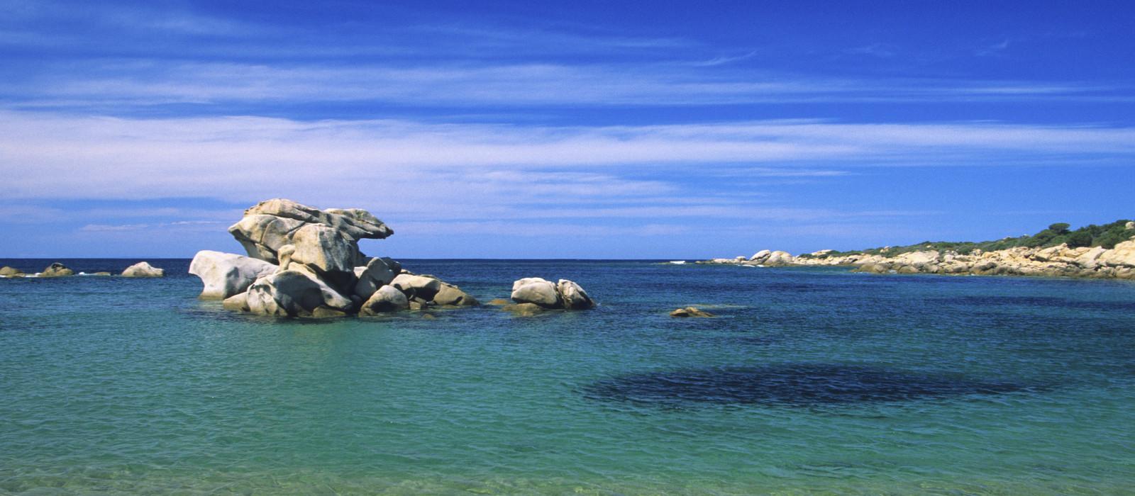 Les criques secrètes de l'île de beauté