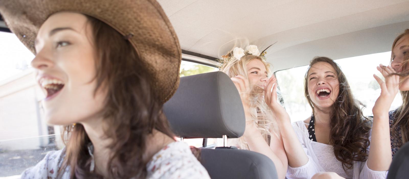 Une playlist pour les longs trajets en voiture
