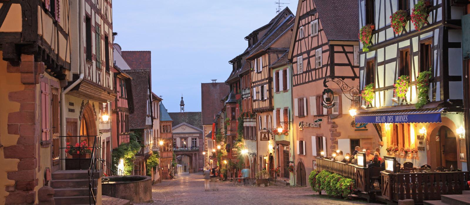 Charmants villages d'Alsace