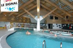 Le Signal, centre aquasportif des Saisies