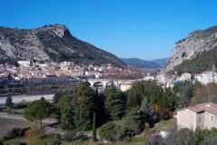 Le village d'Anduze