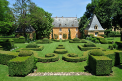 Garden Party dans la cour du Manoir