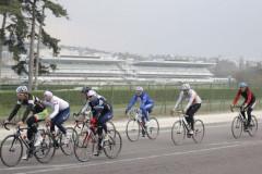 Le tour de Longchamp à vélo