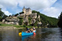 Canoë-kayak au départ des Eyzies