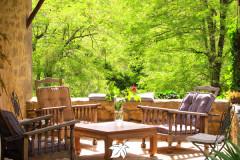 Balcon en Forêt