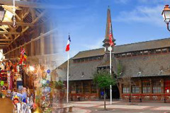 Le vieux marché d'Étretat