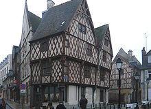 Les maisons à pans de bois et hôtels particuliers de Bourges