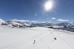Le domaine skiable de l'Alpe d'Huez