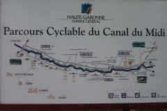 Vélo le long du Canal du Midi