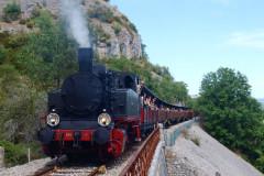 Découverte de Martel, cité médiévale et du train Truffadou