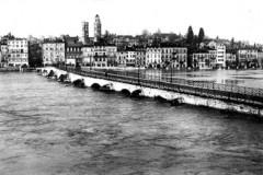 Les quais de Saône et le pont Saint-Laurent