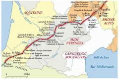 Étape sur le chemin de Saint-Jacques-de-Compostelle