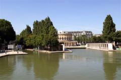 Croisière sur le canal Saint-Martin