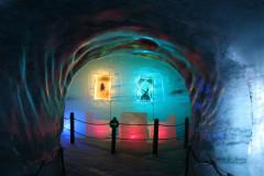 Visite de la grotte de glace