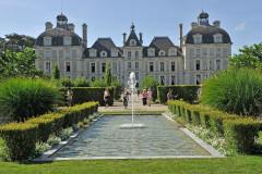 Flâner dans le parc du château de Cheverny