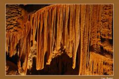 La grotte de l'aven d'Orgnac