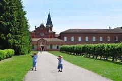 L'abbaye Notre-Dame des Dombes