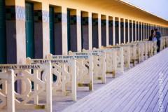 Promenade sur les Planches de Deauville