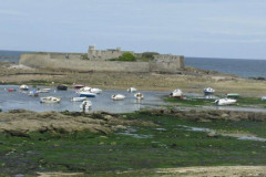 Le Fort-Bloqué dans l'îlot de Keragan