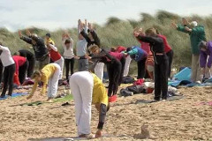 Normandy Beach Yoga