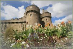 Les remparts et la ville médiévale de Guérande